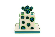 Creative Company | Katrien's Cakes: Square spirals cake Creative Company, Spirals, Cake Art, Craft Projects, Cakes, Cake, Beautiful Cakes, Pastries, Torte