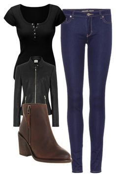 """""""Elena Gilbert Inspired Casual Outfit"""" by mytvdstyle ❤ liked on Polyvore featuring MICHAEL Michael Kors, Doublju, Reiss, Office, women's clothing, women's fashion, women, female, woman and misses"""