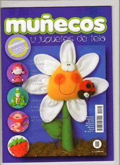 Revistas de manualidades Gratis: Revista gratis muñecos y juguetes en tela.  All that you see plus a snail-