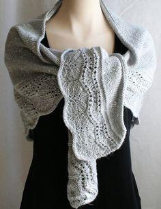 Patron tricot châle (version grand) tutoriel tricoter foulard laine soie  alpaga - LoveItSoMuch. 093a7f5db6e