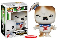 Pop Ghostbusters Toasted Stay Puft Vinyl Figure on sale at Urban Collector. The Stay-Puft Marshmallow Man from Ghostbusters returns to Funko's POP! Vinyl Figure line with a new Funk Pop, Marshmallow Man Ghostbusters, Funko Pop Ghostbusters, Pop Vinyl Figures, Funko Pop Figures, Die Geisterjäger, Ace Attorney, Emo, Chibi