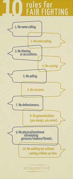 10 rules for fighting fair by john gottman