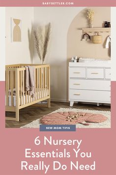 Getting the baby nursery ready for your newborn can be an exciting time. Picking out a theme, decorating, and packing away their tiny clothes is a form of nesting, and it's a completely natural urge. A tip for your baby nursery nesting is to create a checklist of all the essentials you need. Click for a list of practical baby nursery essentials you'll actually use. | Newborn Essentials | Baby Settler Charleston Baby Sleep + Lactation Consultant Newborn Baby Tips, Newborn Schedule, Newborn Needs, Baby Sleep Schedule, Newborn Care, New Mom Survival Kit, Baby Sleep Site, Hospital Bag For Mom To Be, Every Mom Needs