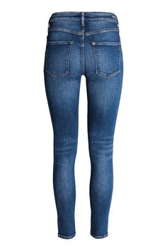 Shaping Skinny Ankle Jeans - Tumma deniminsininen - Ladies | H&M FI