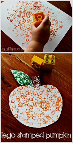 Here you will find a list of pumpkin crafts for kids to make this Halloween and fall season! Find tons of ideas that are cheap and easy to do at home or in the classroom. kids crafts Easy Pumpkin Crafts for Kids to Make this Fall - Crafty Morning Pumpkin Crafts Kids, Kids Crafts, Daycare Crafts, Thanksgiving Crafts, Holiday Crafts, Lego Pumpkin, Fall Art For Toddlers, Easy Crafts, Homemade Crafts