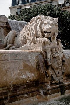 Eglise St. Sulpice Fountain, Paris