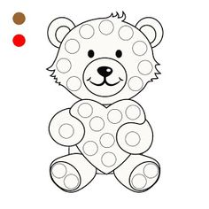 Kindergarten Math Worksheets, Preschool Learning Activities, Kindergarten Writing, Preschool Printables, Angel Coloring Pages, Colouring Pics, Coloring Books, Finger Painting, Dot Painting