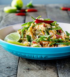 Warm Thai Chicken Salad with Coconut Lime Dressing - Le Creuset Recipes