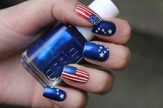 Nail art americana
