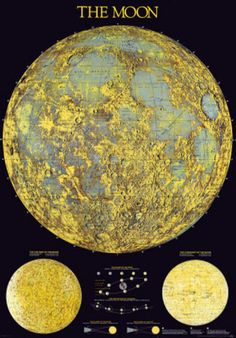 French Laguiole Knife  Moon map and Moon