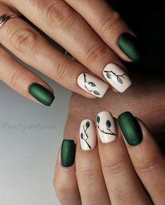 Хотя сейчас и осень, а листиков еще зеленых хочется#nails #nailpolish #followme #kharkiv #kharkivgram #naildesign #nailart #nails_page #gelpolish #art #beautiful #girl #girls #stylish #foto_nogtei  #nailмастер #маникюр #гельлак #харьков #дизайн #матовыеногти #харьковногти #дизайнногтей #идеидляманикюра #мастерманикюра #покрытиегельлаком #росписьногтей #маникюрхарьков #хочувленту_фотоногтей