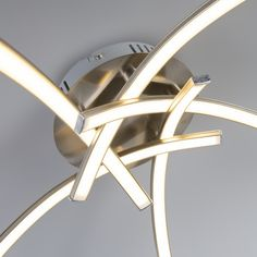 Ceiling Lamp Vasco 5 Steel