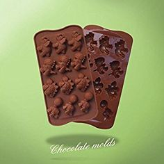 Amazon.com: Dongcrystal Bakeware 12 - Cavities Dinosaur Shape Silicone Molds Chocolate Mold Ice Cube Tray Soap Mould Cake Decoration(Set Of 2): Toys & Games