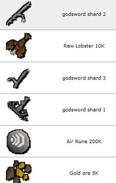 Rs items in www.gameim.com/product/RuneScape_II_gold.html