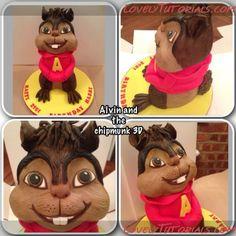 Alvin cake tutorial