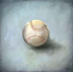 """Boy's Toys - Baseball"" - Canvas Wall Art from Oopsy daisy, Fine Art for Kids. 10% off till Feb 6th!"