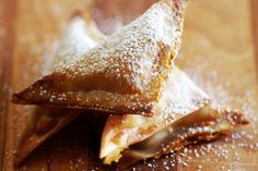 The Baked Pumpkin Wontons Represent Culinary Fusion at its Finest #pumpkin #recipes trendhunter.com