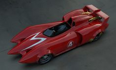 Speed Racer Mach 6 Car | Mach 5 . Built by Racer Motors , and driven by Rex Racer , this car ...