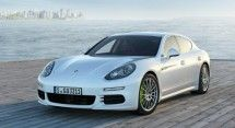 2014 Porsche Panamera plug-in hybrid can go 20 miles on electric power alone