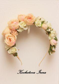 #hair #floralcrowns #accessory #headband #handmade #kochetova