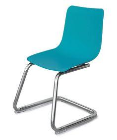 Turquoise Modern Kids Chair #zulily #zulilyfinds