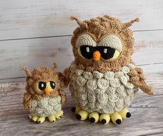 Мои работы Crochet Bird Patterns, Crochet Birds, Owl Patterns, Crochet Cross, Crochet Patterns Amigurumi, Cute Crochet, Crochet Animals, Crochet Designs, Amigurumi Toys