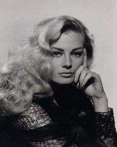 Anita Ekberg portrays the role of ''Virginia Wilson aka Yolanda Ake'' in the film ''Screaming Mimi'' a 1958 movie noir, distributed by Columbia Pictures. Hollywood Icons, Vintage Hollywood, Hollywood Glamour, Hollywood Actresses, Classic Hollywood, Actors & Actresses, Hollywood Style, Anita Ekberg, Divas