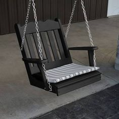 one person hanging wooden swing chair - Google Search