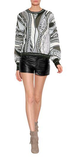 RAG & BONE - Merino Patterned Knit Pullover