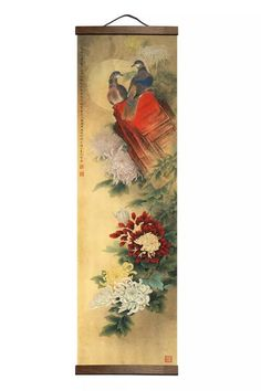 If you want to enhance any room decor, you can try this Chinese Style Flowers Wood Scroll Wall Art Canvas It will give a unique accent to your room, as well as brighten it up and astonish your visitors. We're sure your guests will smile when they see this wall art. This wall art can be easily hung and place. The hanger is made of real wood. Flexible placement will not damage this canvas and you can change out the place whenever you want. Asian Wall Art, Plant Wall, Green Plants, Chinese Style, Real Wood, Canvas Wall Art, Oriental, Hanger, Room Decor