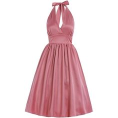 'Marilyn' Blush Pink Occasion Swing Dress - Had to change my dress wishlist as there are so many gorgeous new styles available! Vintage Inspired Fashion, Vintage Inspired Dresses, Vintage Style Dresses, Retro Fashion, Vintage Fashion, Dress Vintage, Vintage Pink, Blush Pink Bridesmaids, Vintage Bridesmaid Dresses