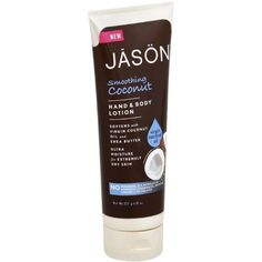 Jason Natural Products - Smoothing Coconut Hand And Body Lotion ( 2 - 8 OZ)-BHA