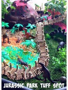 Jurassic Park Tuff Spot