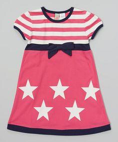 b7f4c36e3a3a3 Sophie & Sam Pink & White Stars & Stripes Dress - Infant & Toddler. Toddler Girl  DressesToddler ...