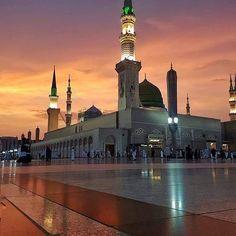 Madinah 💙 I Masjid-un-Nabawi