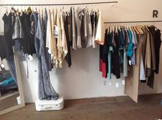 Y5 VIENNA | SHOWROOM FOR FAIR FASHION Vienna, Wardrobe Rack, Showroom, Space, Furniture, Home Decor, Fashion, Floor Space, Homemade Home Decor