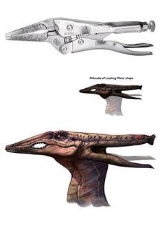 Plieraptor by Safdar Ali Mirza: www.safdaralimirza.deviantart.com