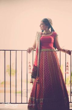 Multicolor brocade lehenga from Sabyasachi