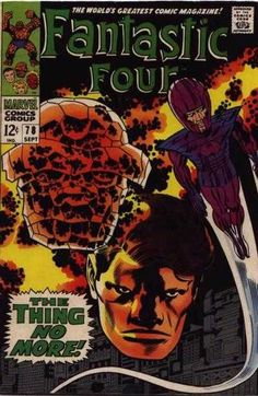 Fantastic Four #78 - The Thing No More!