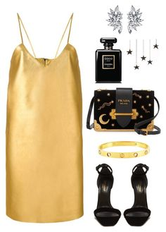 """""""Winter Things"""" by vivalavida903 ❤ liked on Polyvore featuring Manokhi, Cartier, Yves Saint Laurent, Prada and Chanel"""