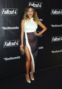 Chrissy Teigen's Maternity Style Has Gotten Off to a Fabulously Sexy Start