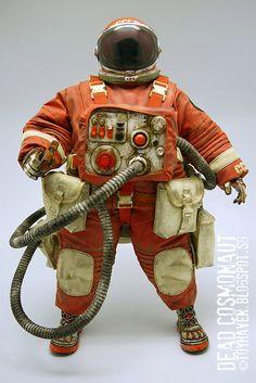 toyhaven: More ThreeA Adventure Kartel 1/6th scale Dead Cosmonaut Golovorez 12.5-inch figure Review II