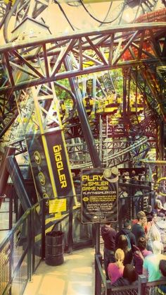 #Alton Towers The Smiler #rollercoaster #merlin entertainments @Spencer Towers Resort Official