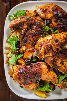 Moroccan Roast Chicken