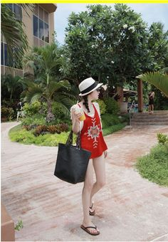 Korean Fashion, Korean Clothing / Swimsuit By Miamasvin    / #Miamasvin, #Stylenanda, #dholic