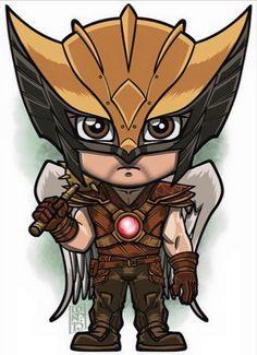 Hawkman  Lord Mesa Art