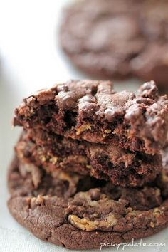 Chocolate Cake Reeses Peanut Butter Chunk Cookies Recipe on Yummly. @yummly #recipe