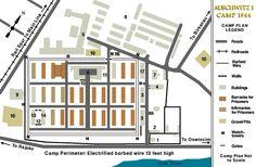 Aushwitz map