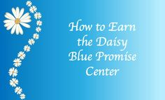 Daisy Blue Promise Center Activity