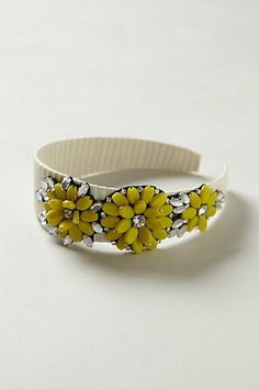 A little drama for your head! Jewel Blossom Headband #anthropologie
